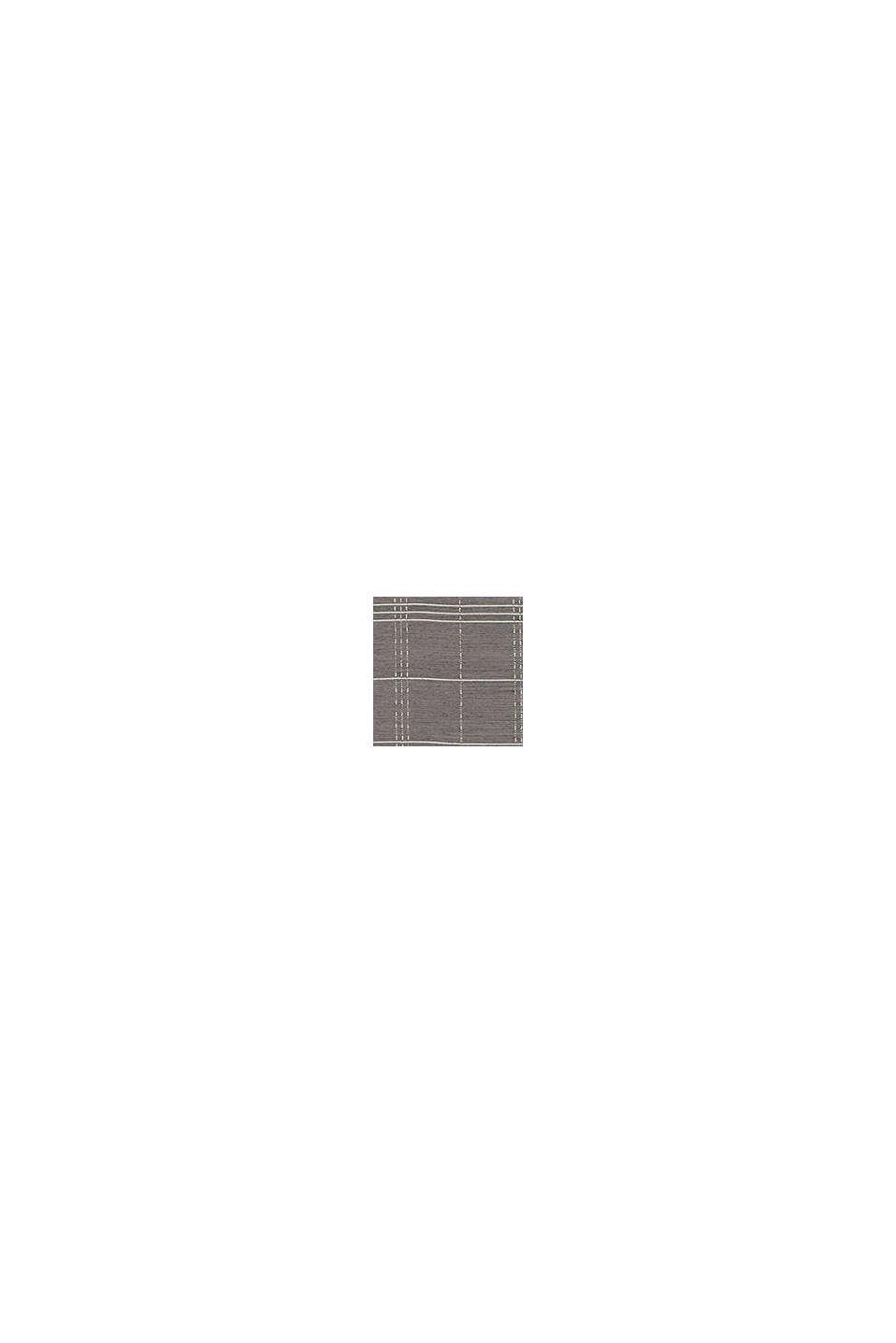 Reciclada: cortina transparente con diseño de cuadros, ANTHRACITE, swatch