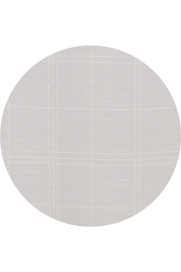 Kierrätettyä: läpinäkyvä ruudullinen verho, OFF WHITE, detail image number 2