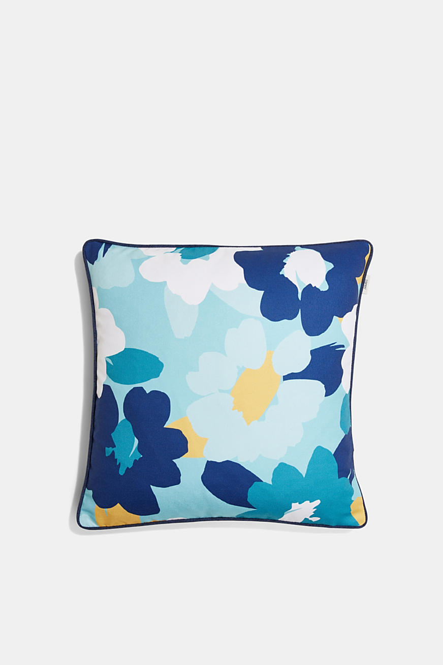 Cushion cover with a floral print