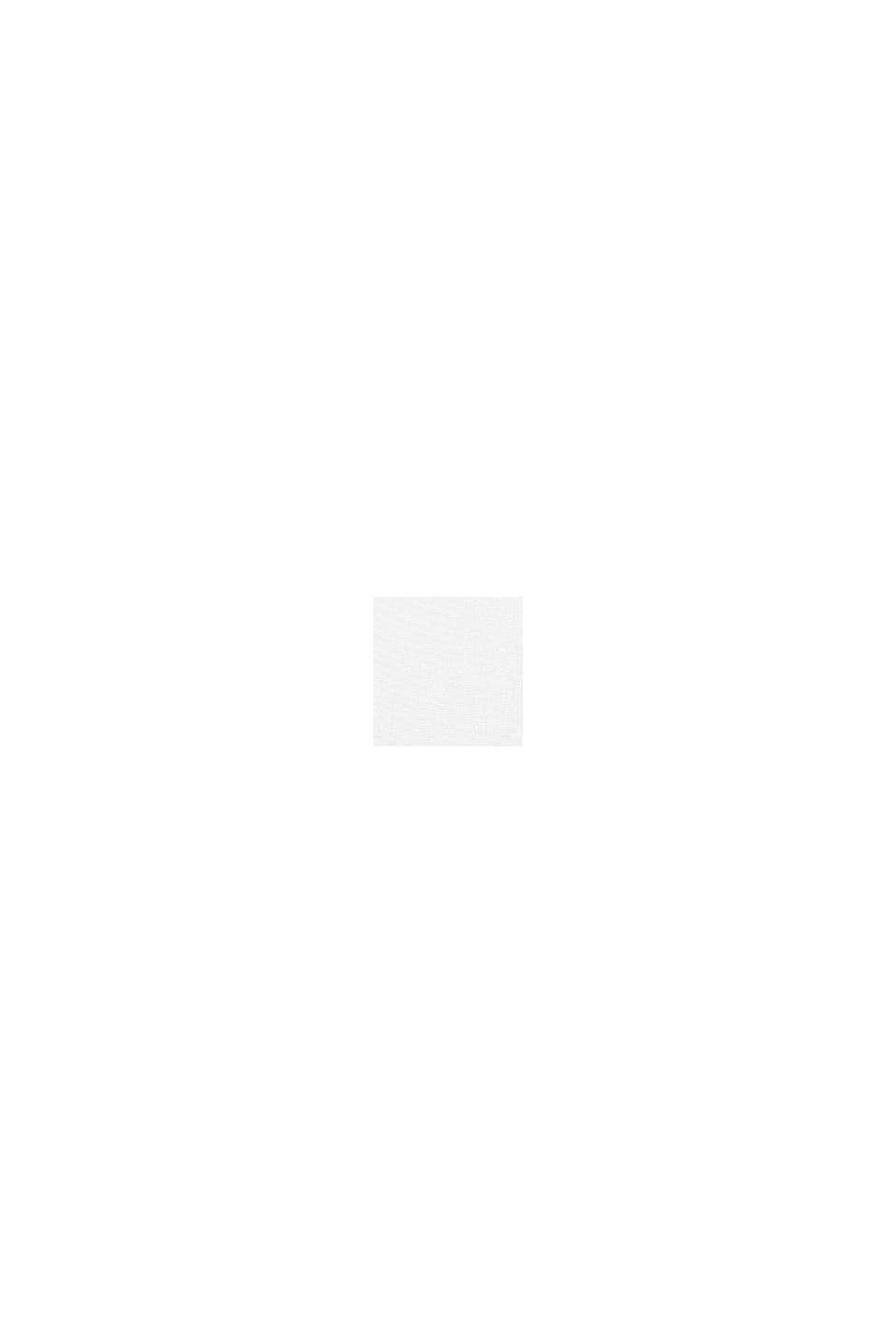 Zweifarbige Kissenhülle aus 100% Baumwolle, WHITE, swatch