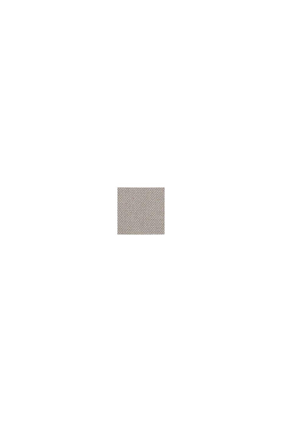 Zweifarbige Kissenhülle aus 100% Baumwolle, DARK GREY, swatch