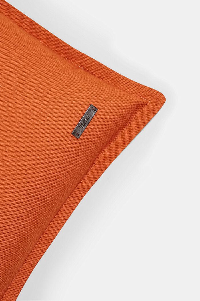 Zweifarbige Kissenhülle aus 100% Baumwolle, COPPER, detail image number 1