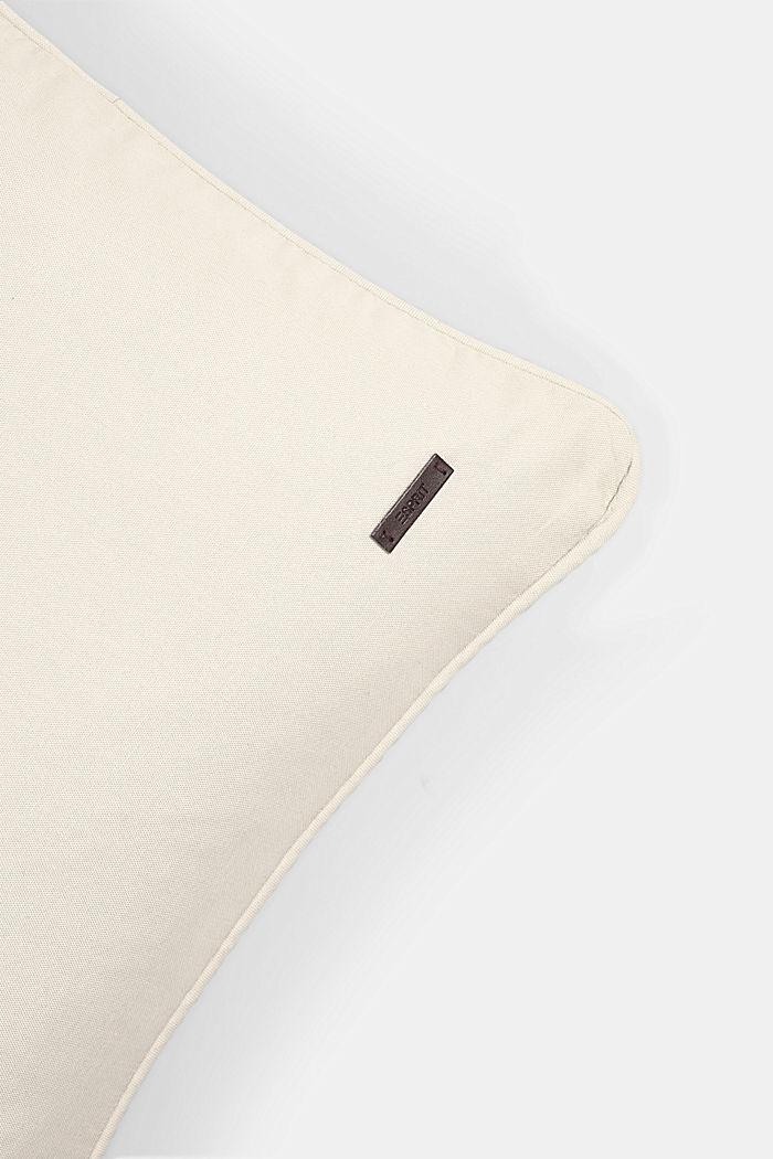 Housse de coussin 100 % coton, BEIGE, detail image number 1