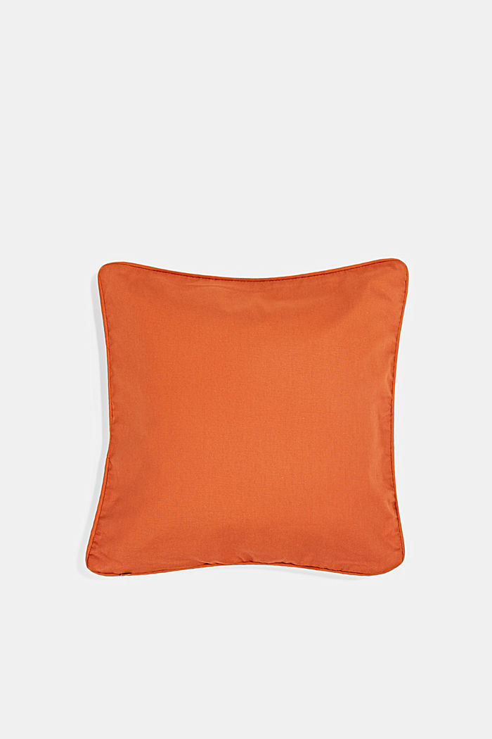 Cushion cover made of 100% cotton, COPPER, detail image number 2