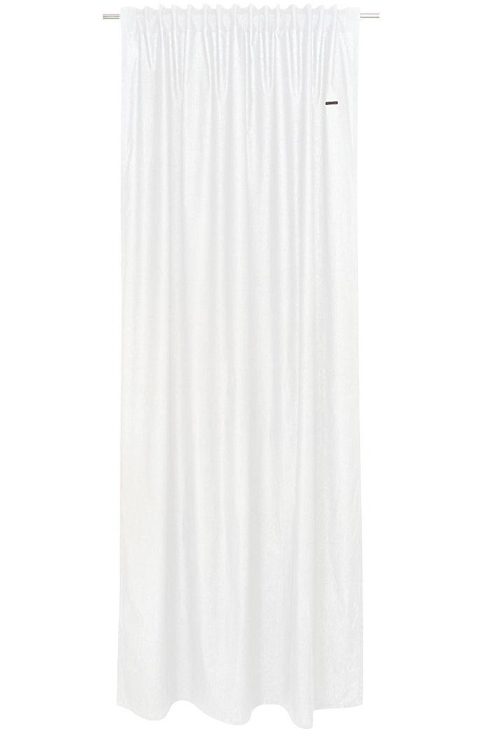 Vorhangschal mit verdeckten Schlaufen, WHITE, detail image number 0