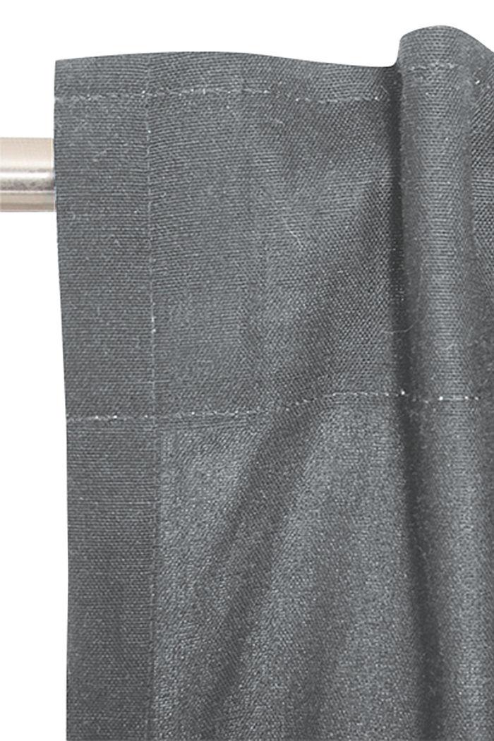 Forhæng med skjulte stropper, DARK GREY, detail image number 1