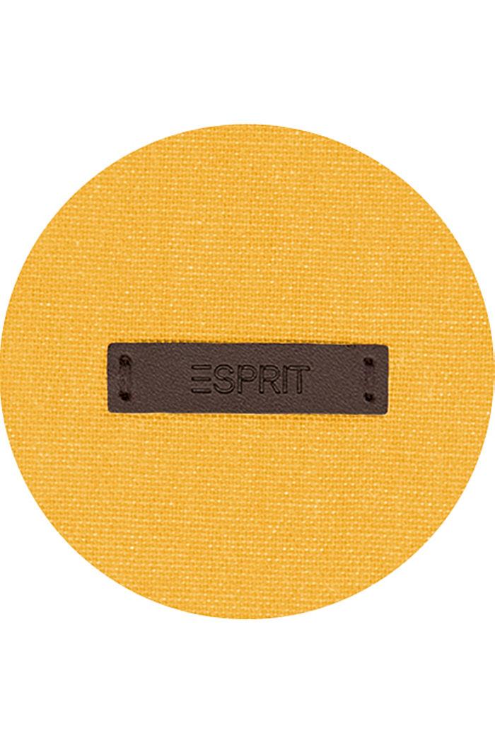 Gordijn met blinde lussen, YELLOW, detail image number 2