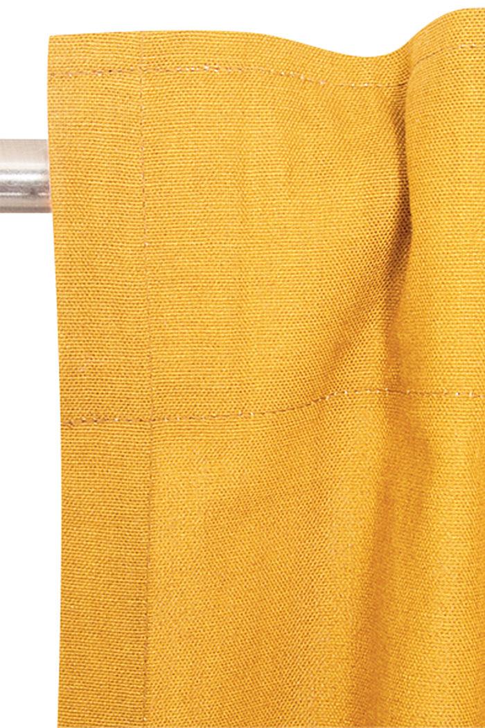 Vorhangschal mit verdeckten Schlaufen