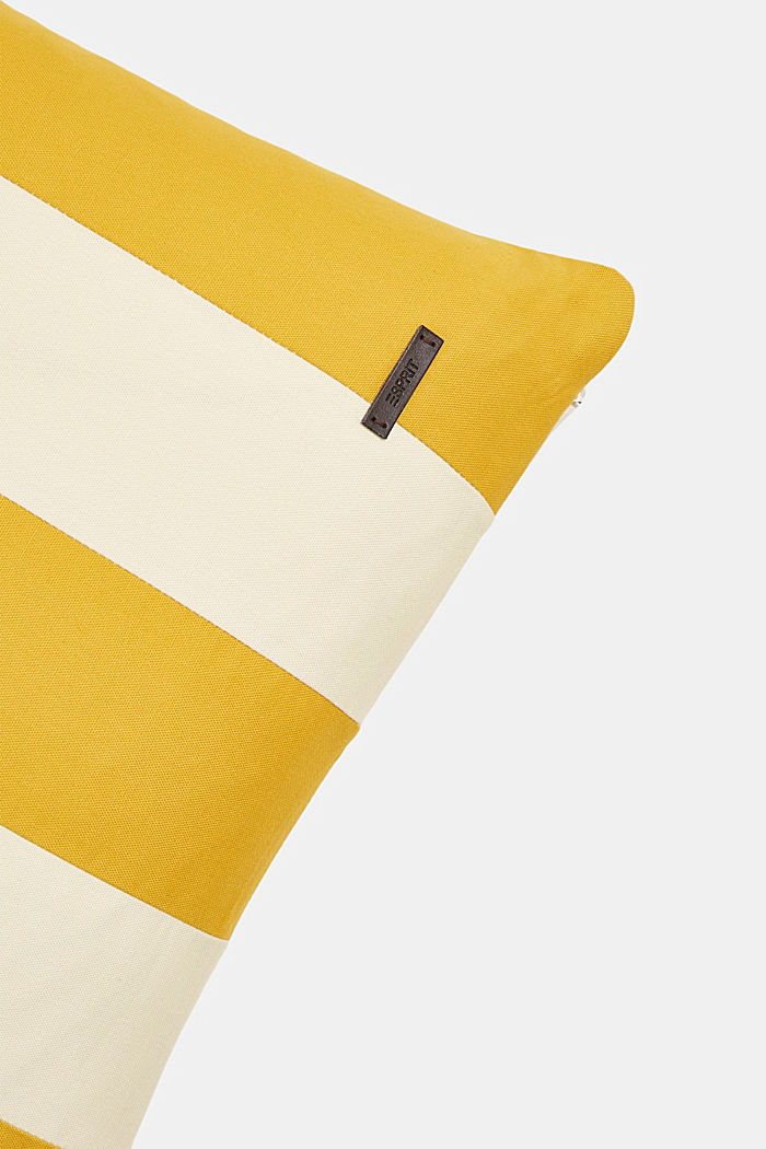 Striped cushion cover made of 100% cotton