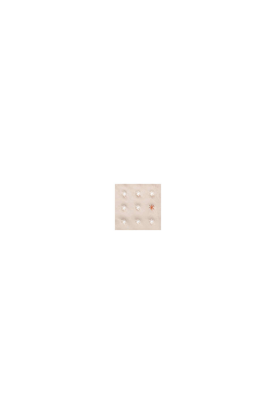 Kussenhoes van fluweel met borduursel, BEIGE, swatch