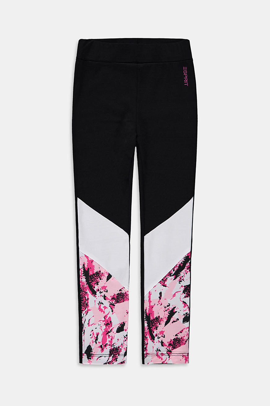 Sportlegging met colour block