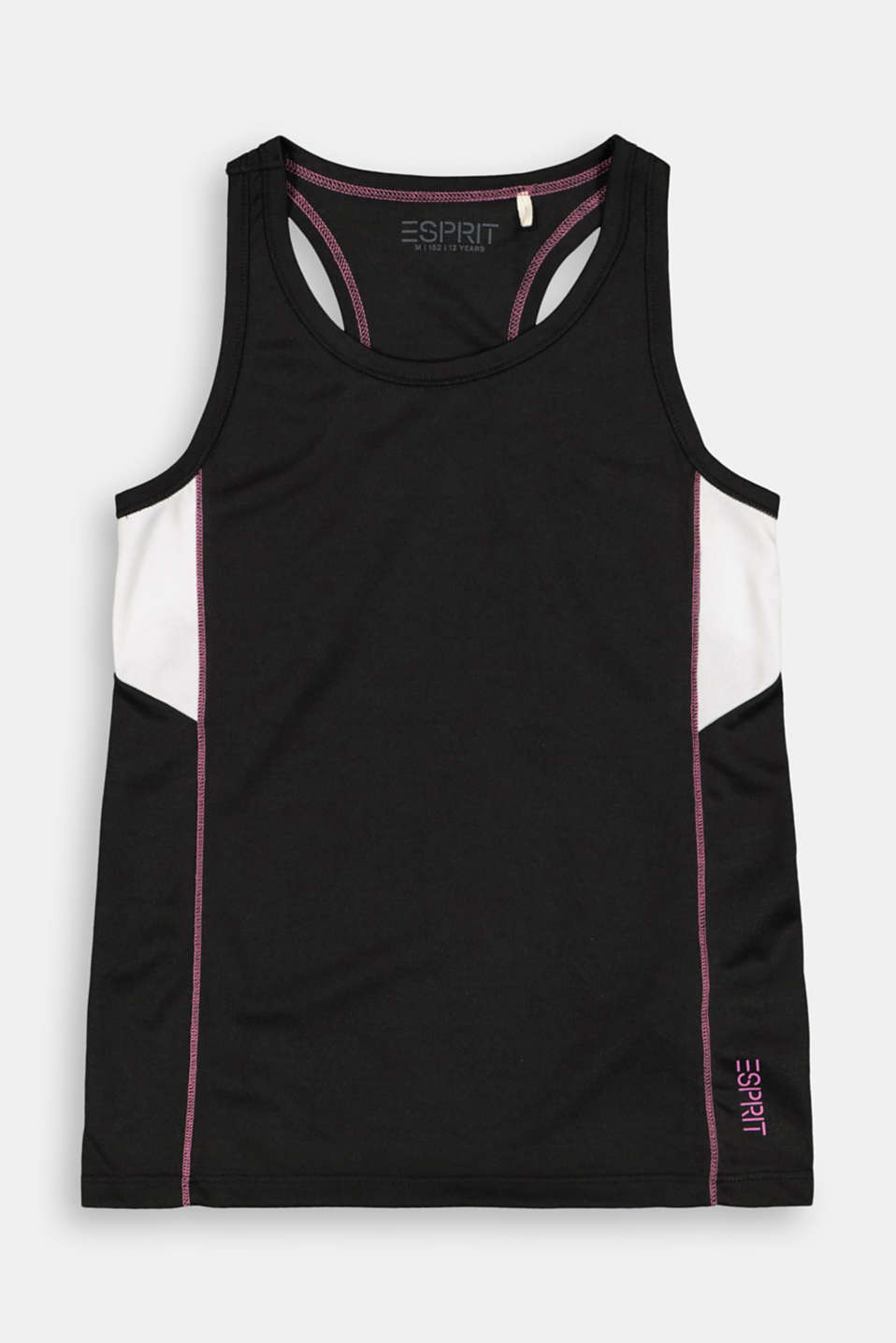 Esprit - Active top met colour blocks