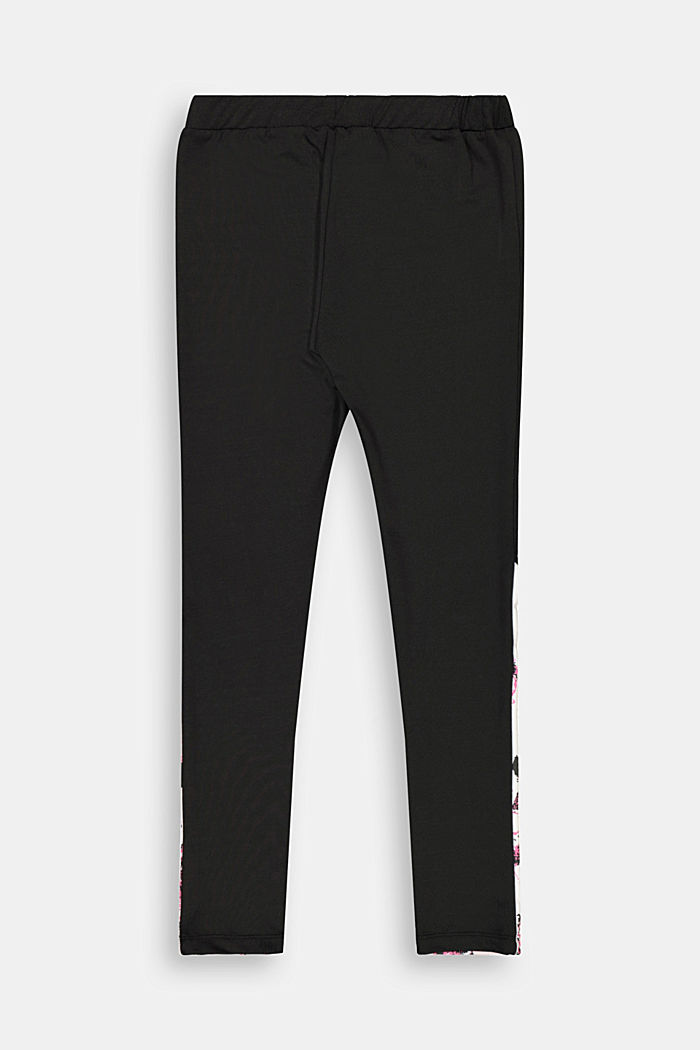 Active-Leggings mit Color Block, BLACK, detail image number 1