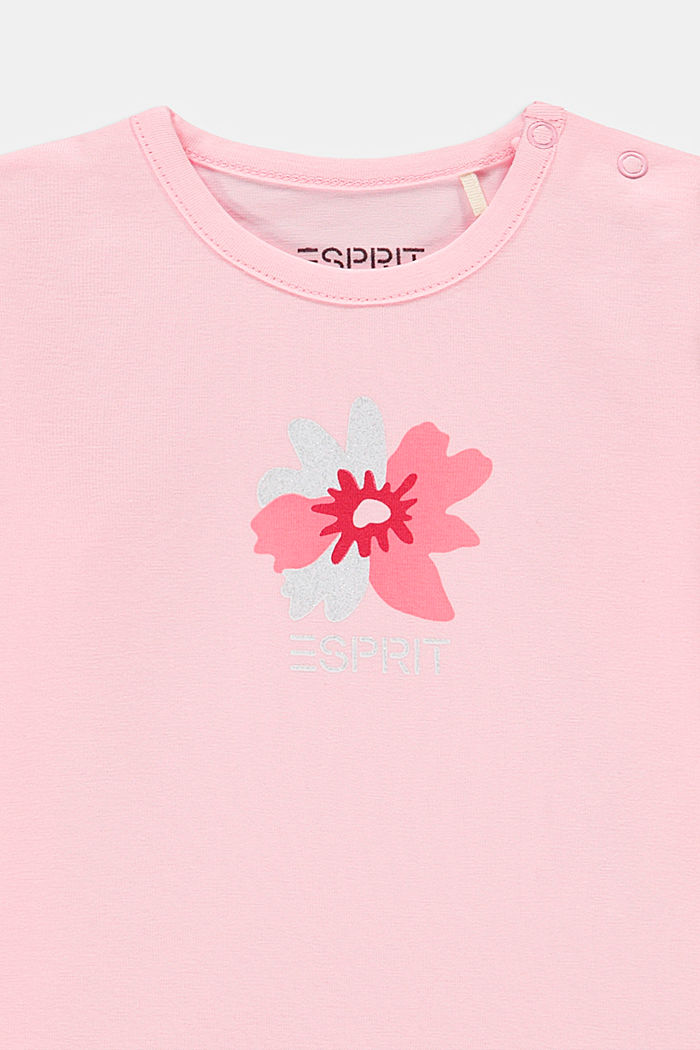 Print long sleeve top with organic cotton, BLUSH, detail image number 2