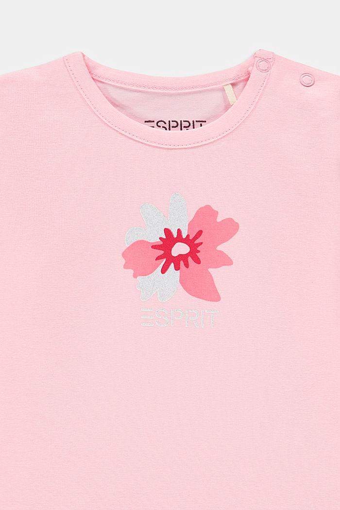 Longsleeve met print en biologisch katoen, BLUSH, detail image number 2