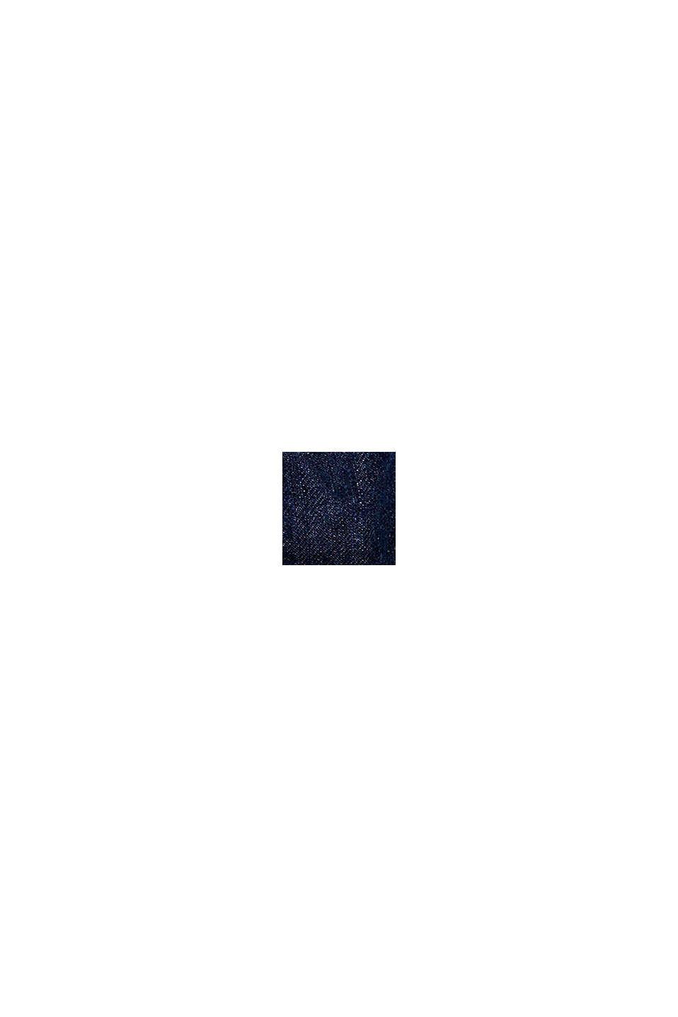 Short en jean à taille élastique, BLUE MEDIUM WASHED, swatch