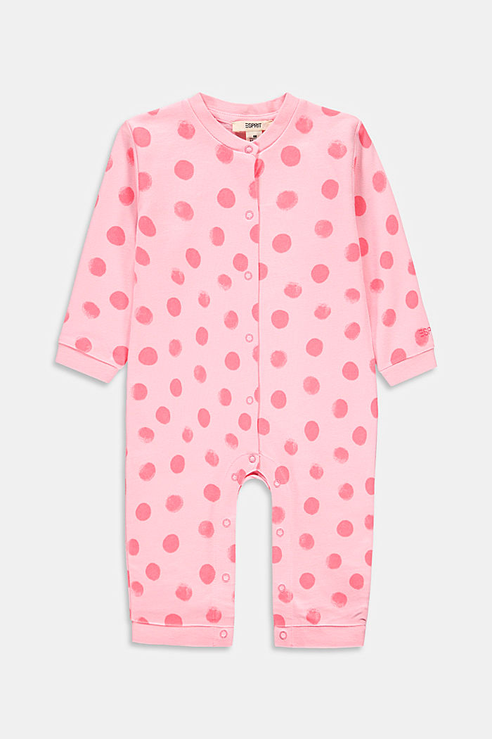 Sweatshirt romper suit made of 100% organic cotton