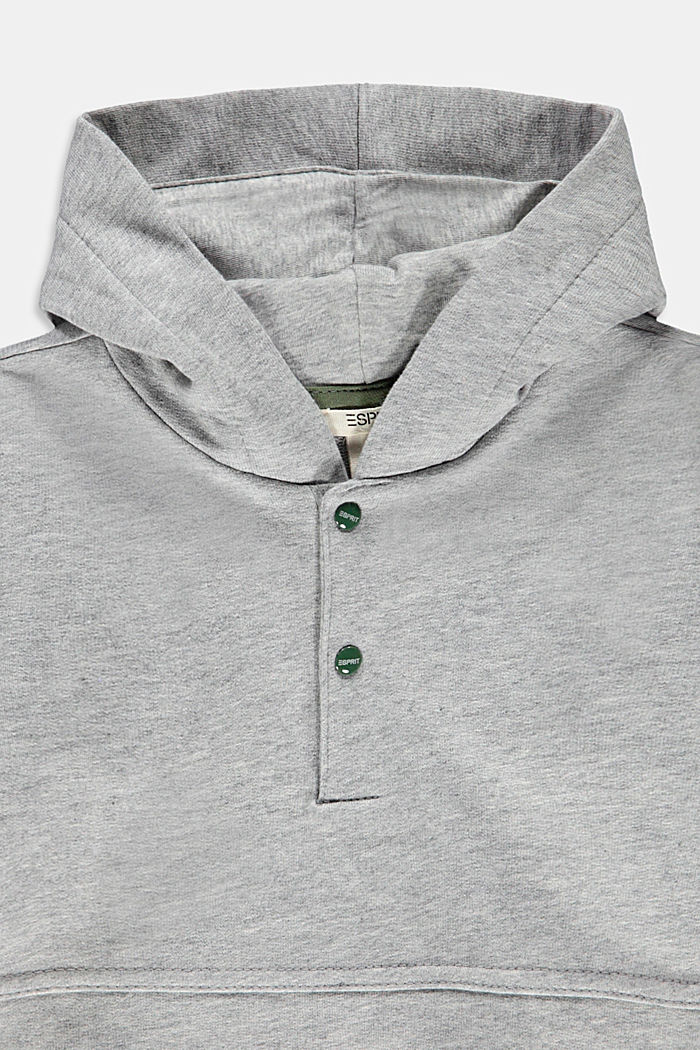 Sweat 100 % coton biologique, MEDIUM GREY, detail image number 2