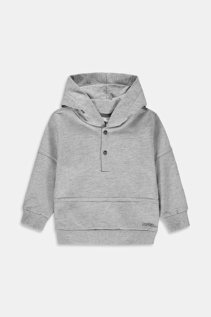 Sweat hoodie made of 100% organic cotton