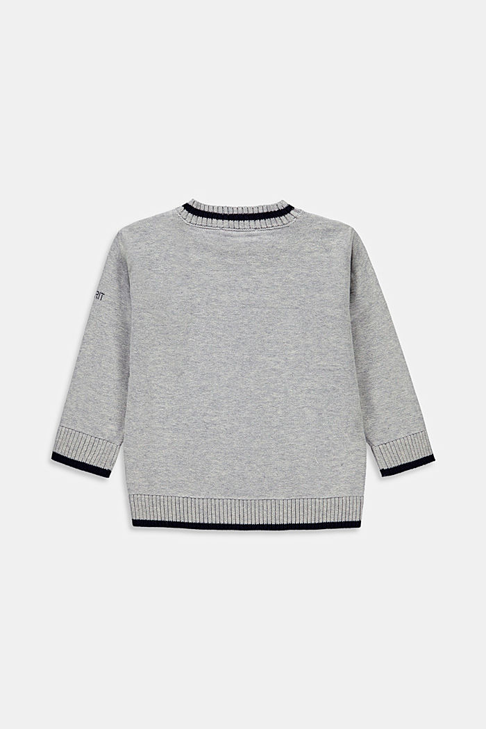 Sweaters cardigan, MEDIUM GREY, detail image number 1
