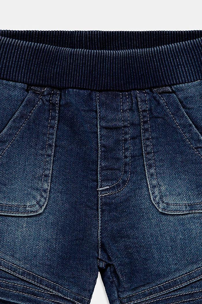 Shorts knitted, BLUE MEDIUM WASHED, detail image number 2