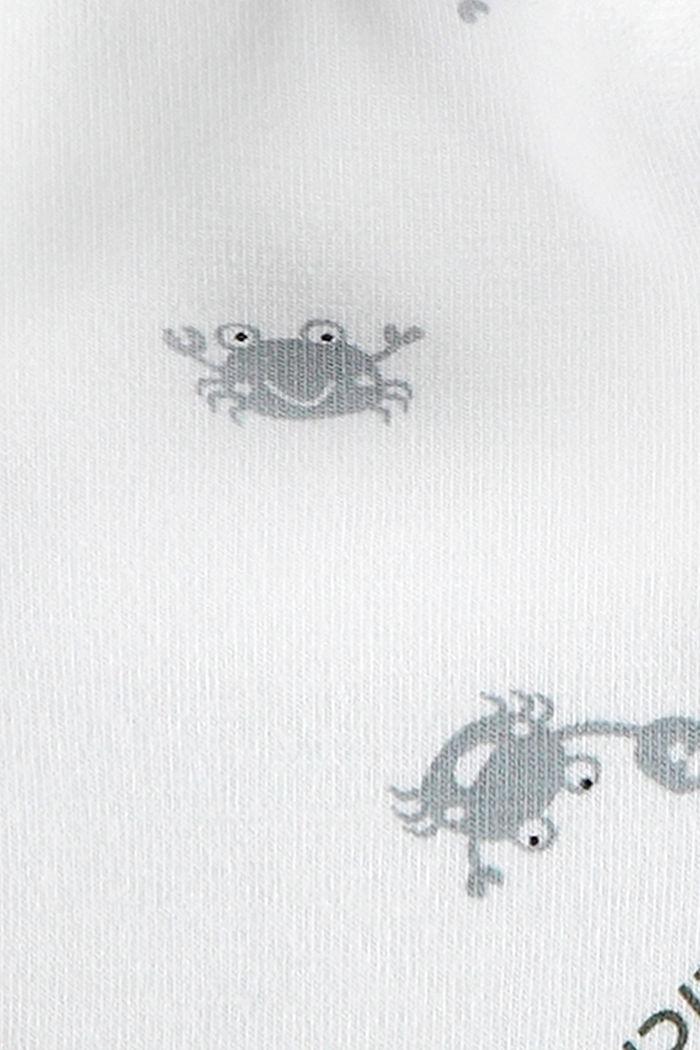 Scarf with animal motifs, SKIN BEIGE, detail image number 1