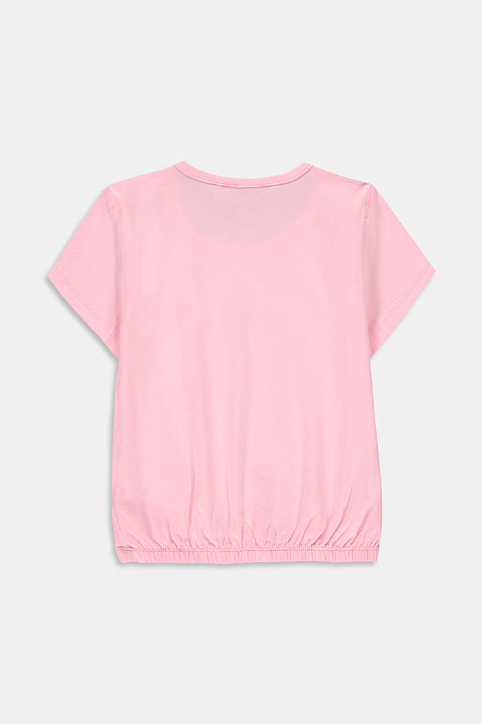 Printed T-shirt with sequins, BLUSH, detail image number 1