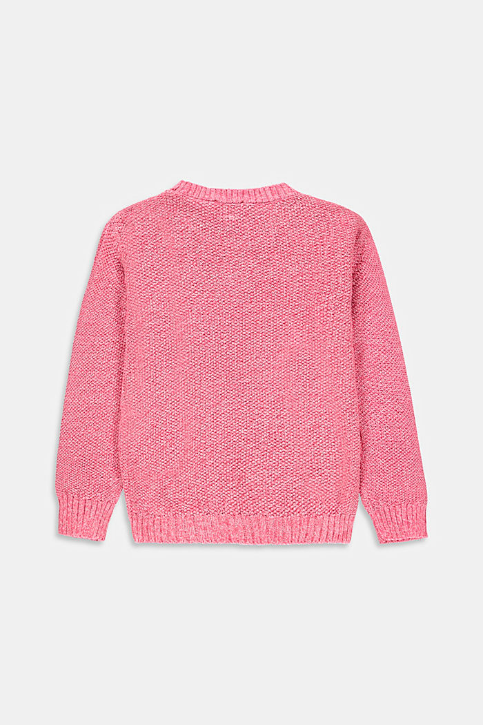 Pull chiné 100 % coton