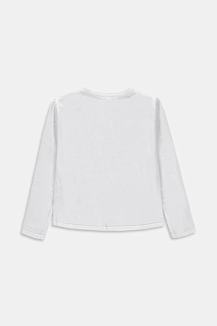 Basic Cardigan aus 100% Baumwolle