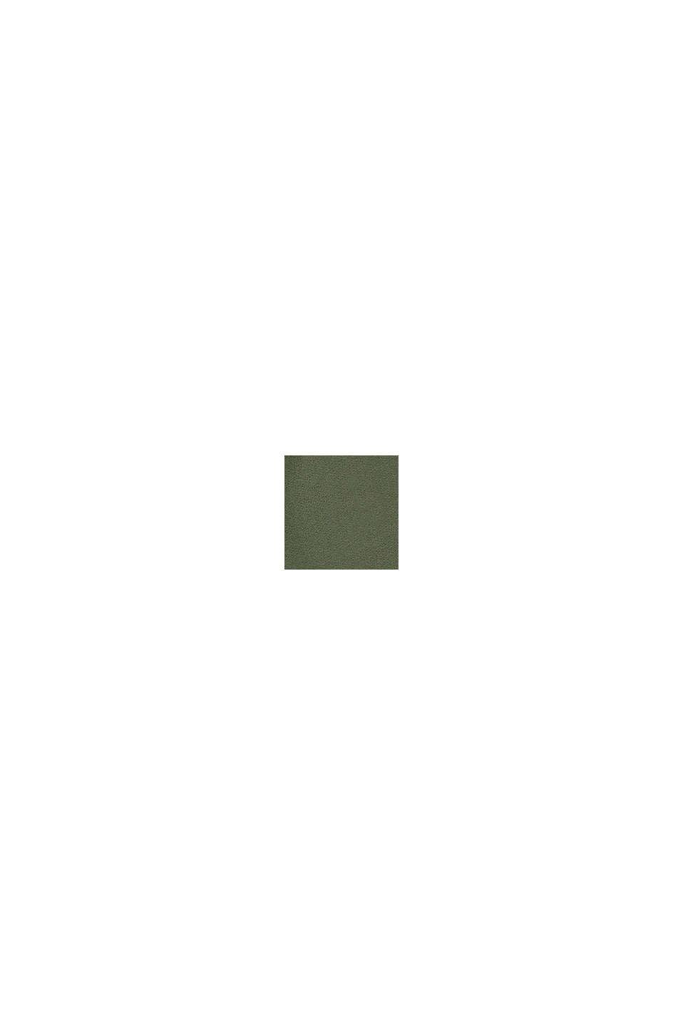 Sweatshirtbyxa i 100% bomull, DARK KHAKI, swatch