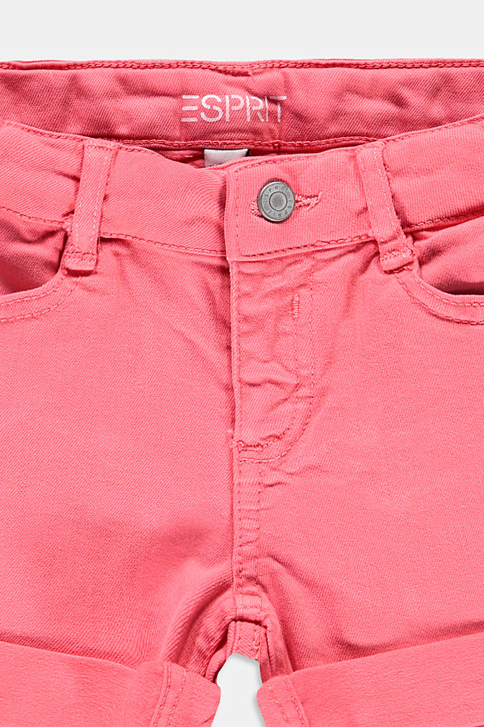 Woven Shorts, CORAL, detail image number 2