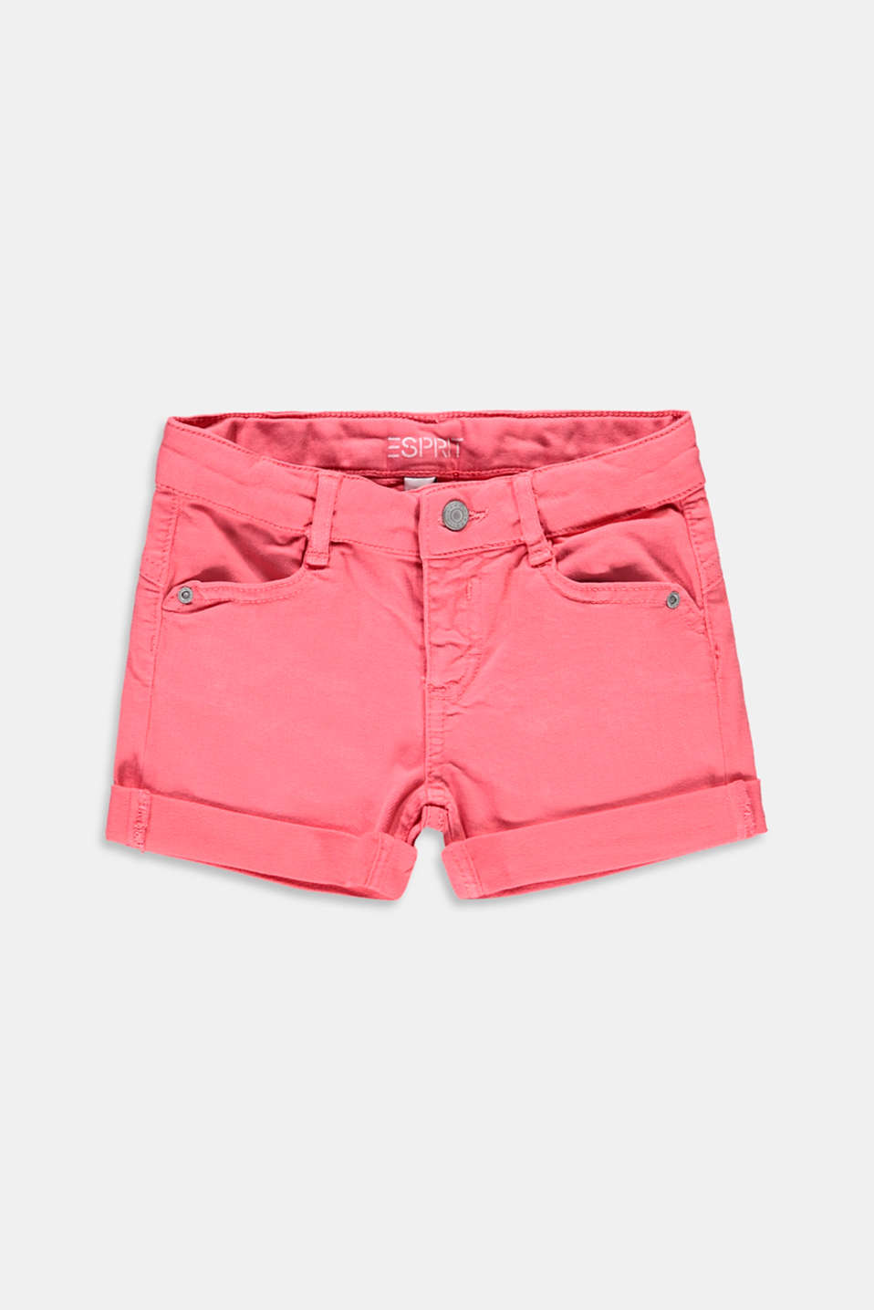 Esprit - Stretch-shorts med regulerbar livvidde