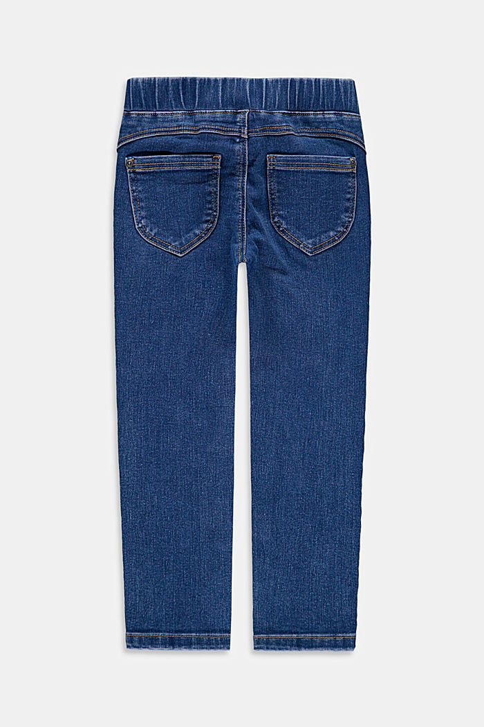 Jeggings with an elasticated waistband