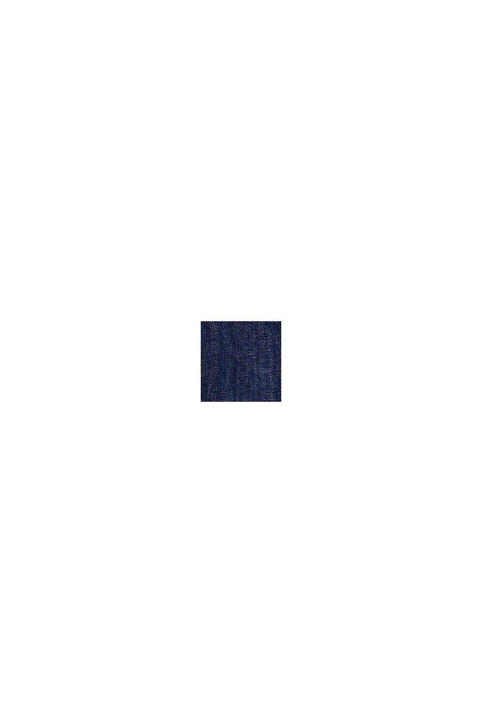 Jean à poches plaquées et taille ajustable, BLUE DARK WASHED, swatch