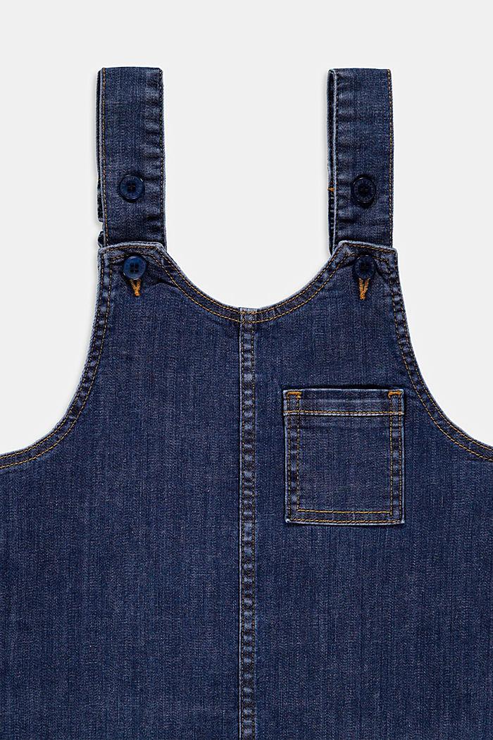 Denim dress, BLUE DARK WASHED, detail image number 2