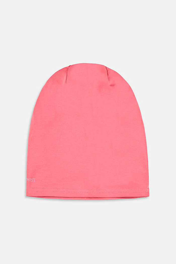 Jersey beanie, CORAL, detail image number 2