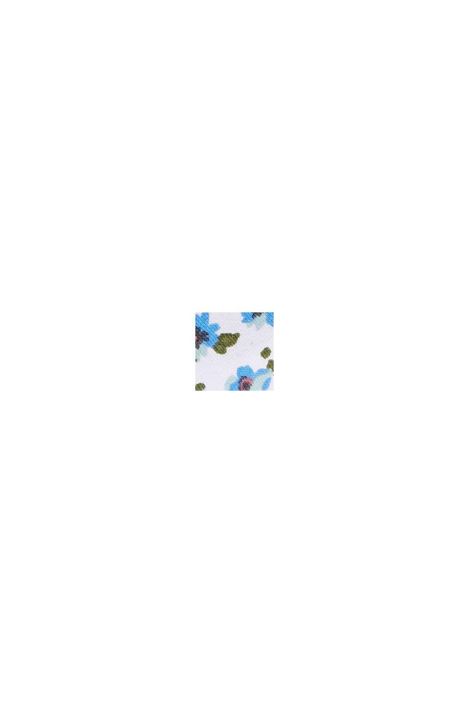 Bandana aus Jersey mit Blumen-Print, WHITE, swatch