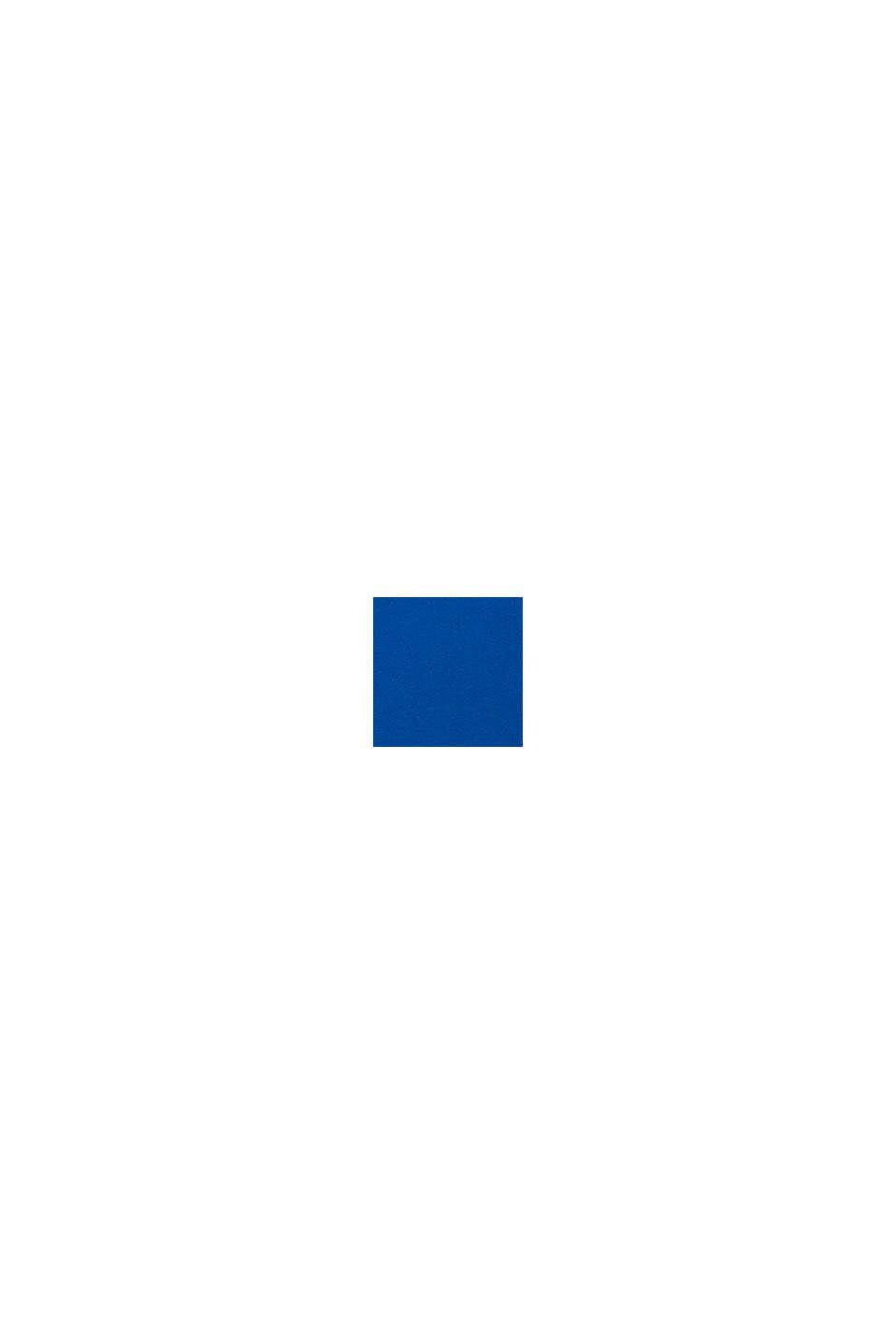 T-shirt met kreeftprint, 100% katoen, BLUE, swatch