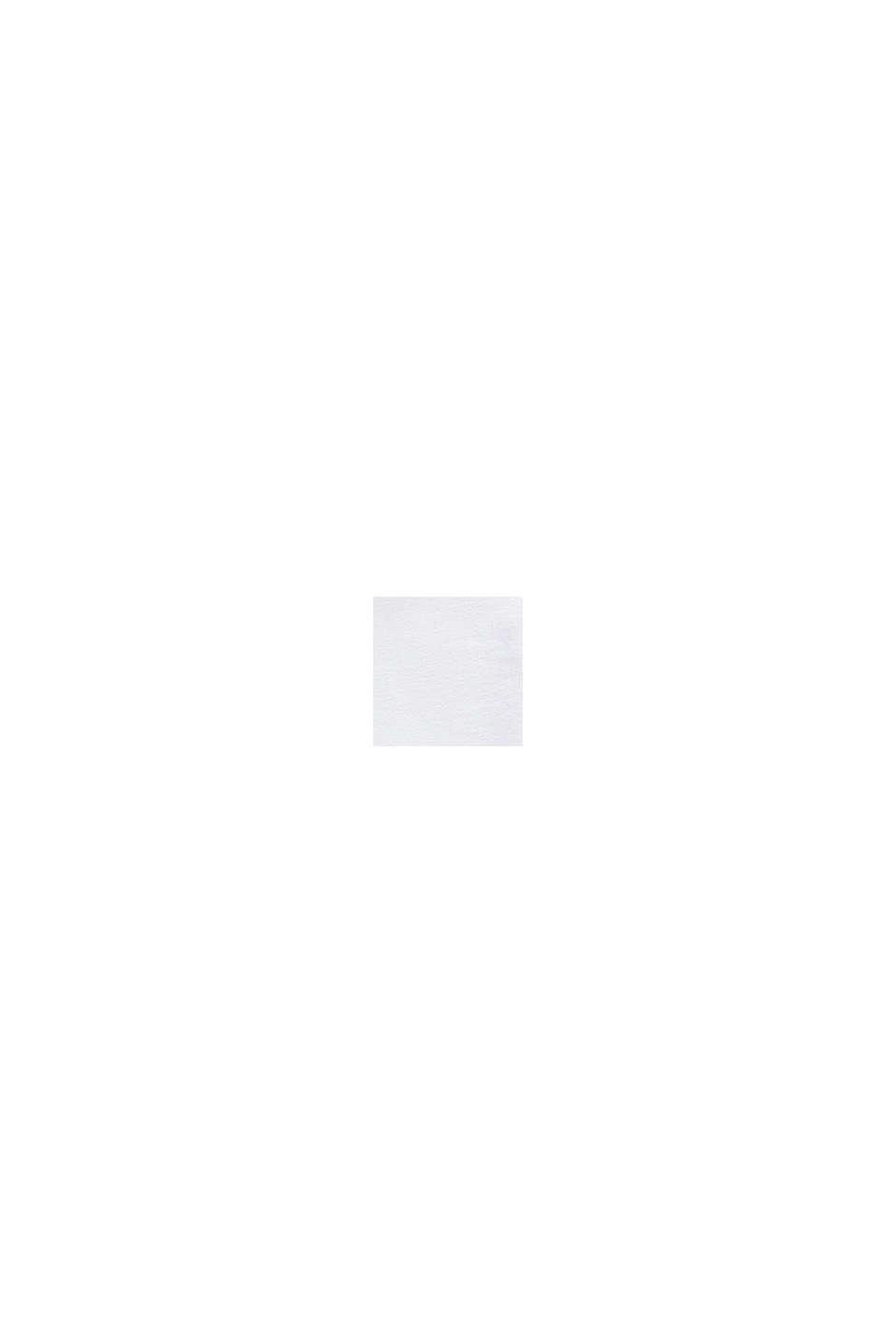 Camiseta en 100% algodón con rótulo, WHITE, swatch