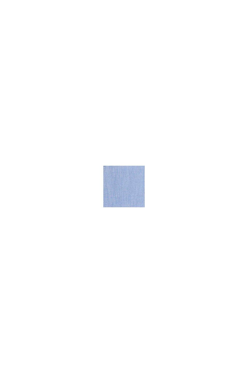 Gemêleerd overhemd van 100% katoen, PASTEL BLUE, swatch