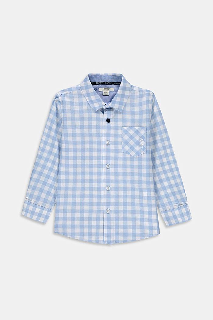Hemd mit Vichy-Karo aus 100% Baumwolle