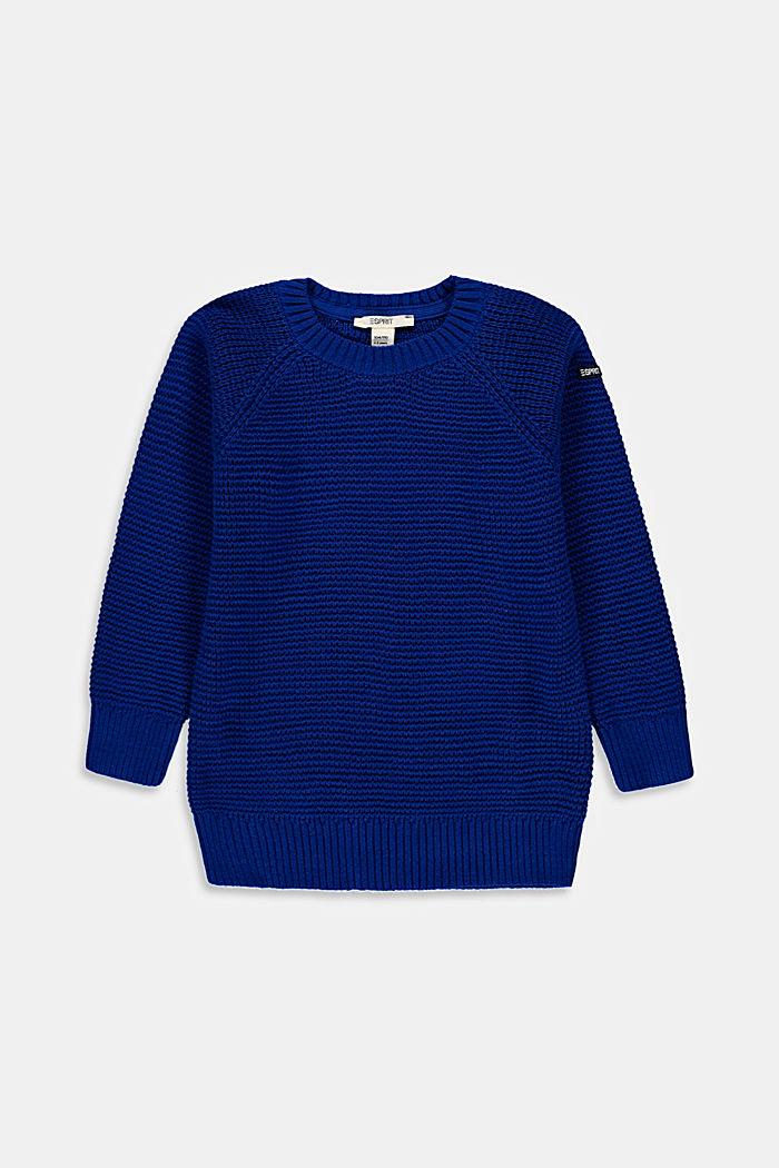 Pullover aus 100% Baumwolle