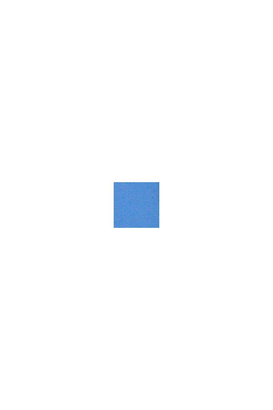 Kurtka z dzianiny dresowej z kolorowymi wypustkami, LIGHT BLUE, swatch