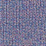 Jumper in multi-colour mouliné yarn, LIGHT BLUE, swatch
