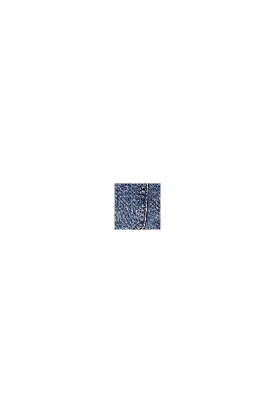 Reciclados: vaqueros cortos con cintura ajustable, BLUE MEDIUM WASHED, swatch