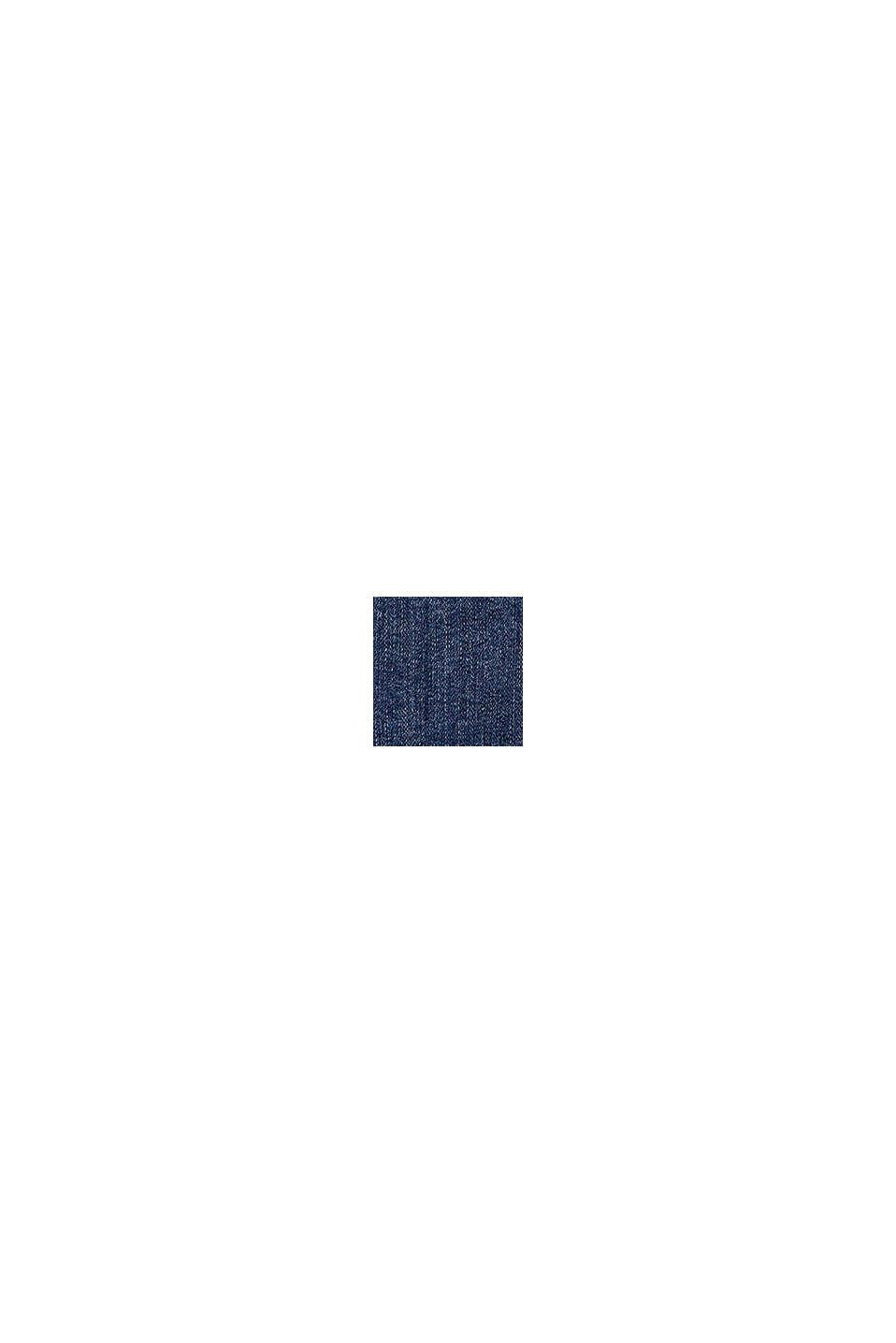 Denim rok met verstelbare band, BLUE DARK WASHED, swatch
