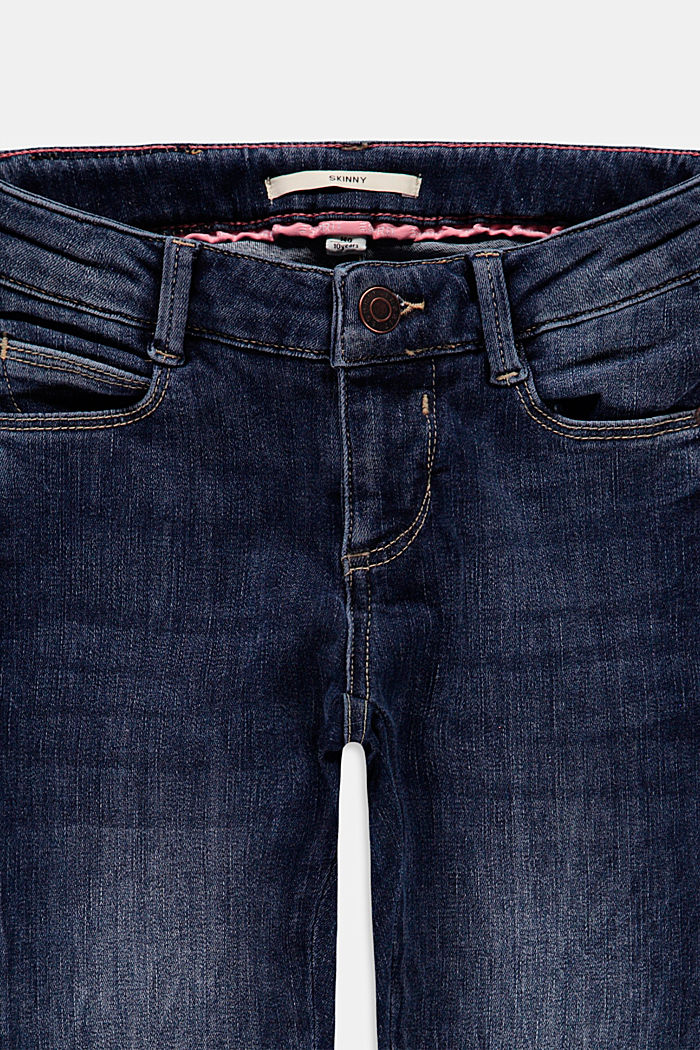 Jeans, BLUE DARK WASHED, detail image number 2