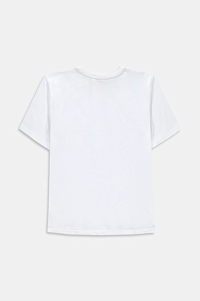 T-shirt with a breast pocket, 100% cotton