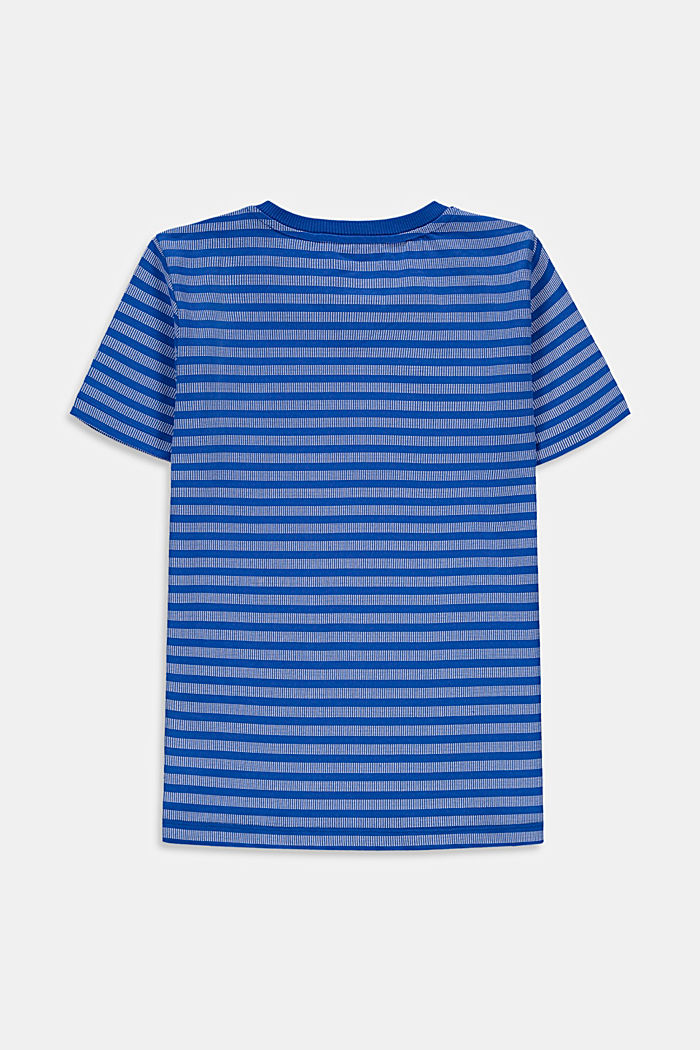 T-shirt with a striped pattern, 100% cotton
