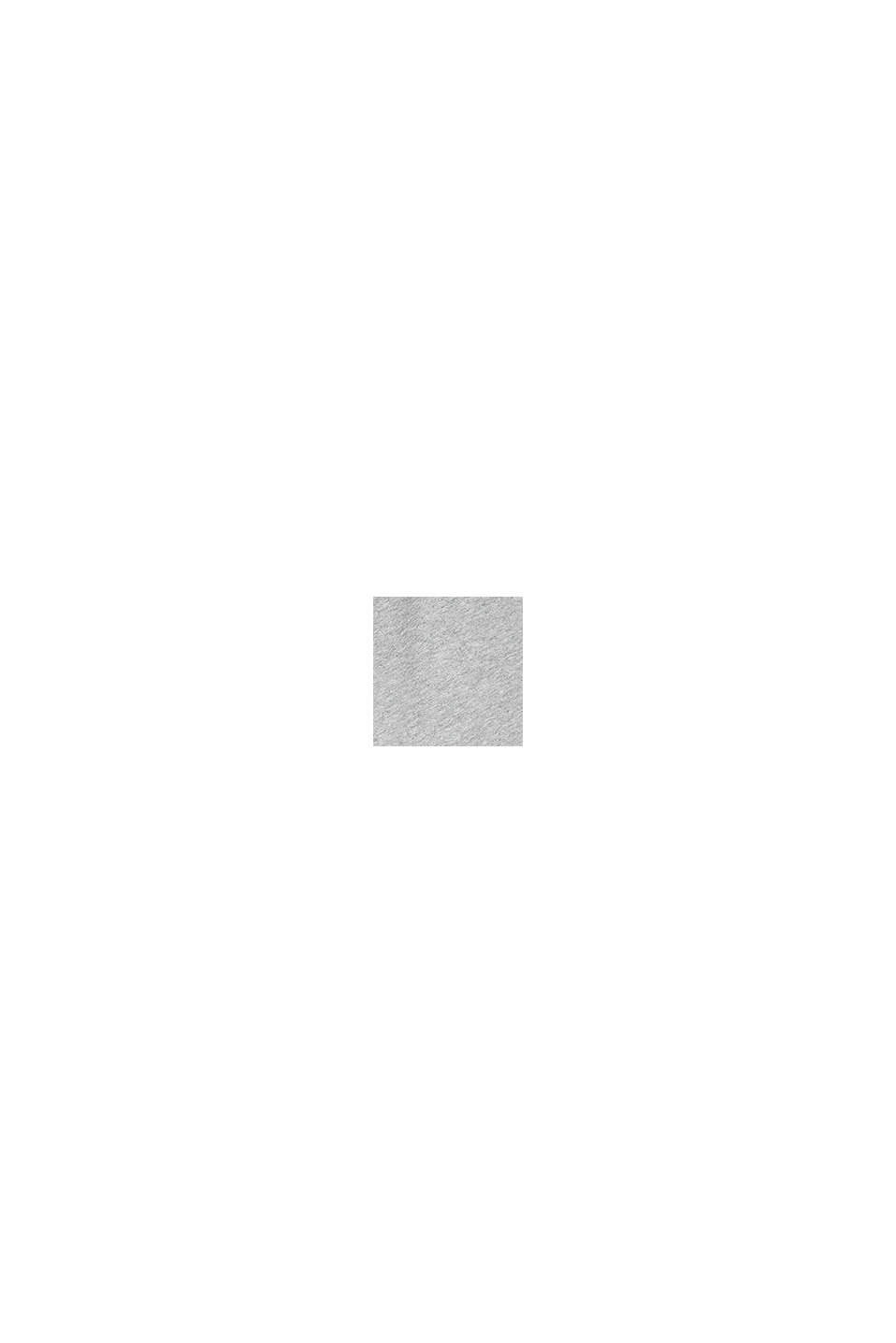 Sweat-Bermudas aus 100% Baumwolle, MEDIUM GREY, swatch
